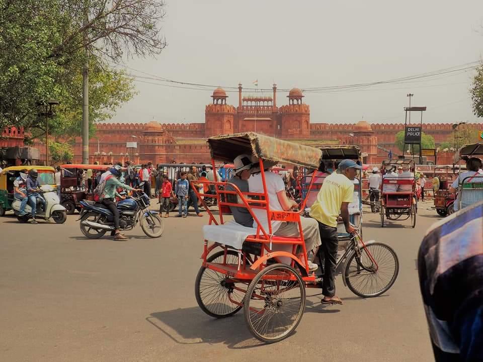 Rickshaw in New Delhi